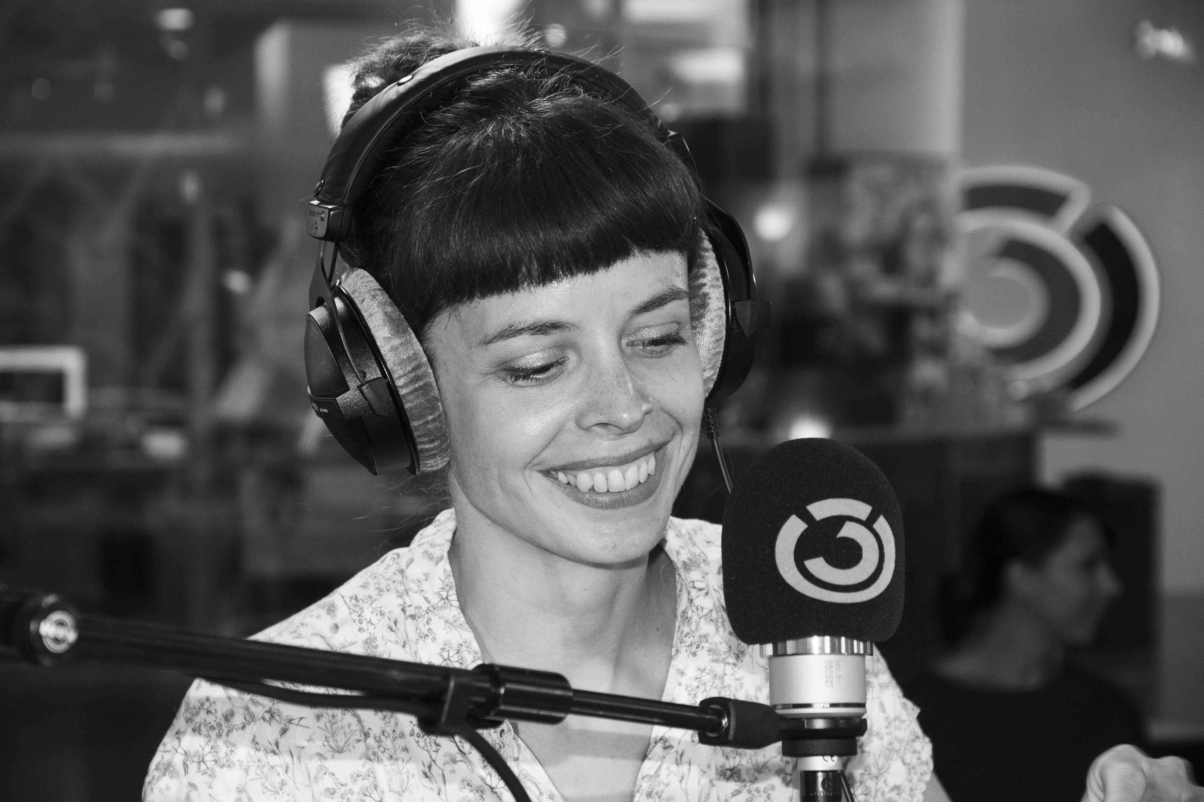 Clara Luzia: Fotografiert von Anastasia Lopez bei Hitradio Ö3 (ORF)