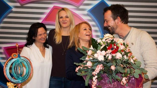 Ö3-Wecker-Team: Fotografiert von Anastasia Lopez bei Hitradio Ö3 (ORF)