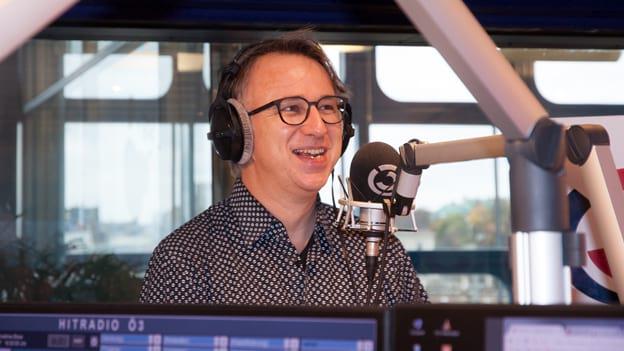 Peter Klien: Fotografiert von Anastasia Lopez bei Hitradio Ö3 (ORF)