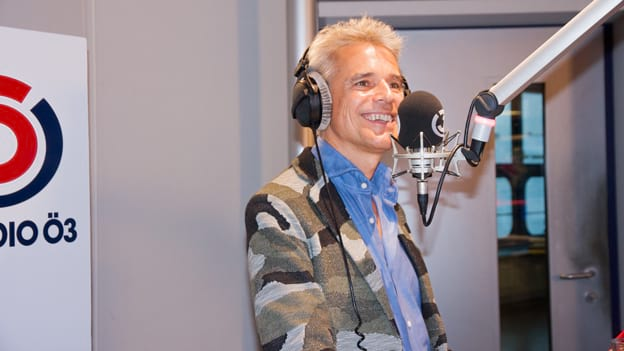 Thomas Brezina: Fotografiert von Anastasia Lopez bei Hitradio Ö3 (ORF)