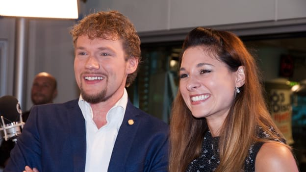Thommy Ten & Amélie van Tass: Fotografiert von Anastasia Lopez bei Hitradio Ö3 (ORF)