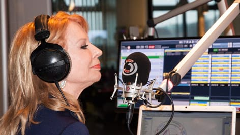 Gerda Rogers: Fotografiert von Anastasia Lopez bei Hitradio Ö3 (ORF)